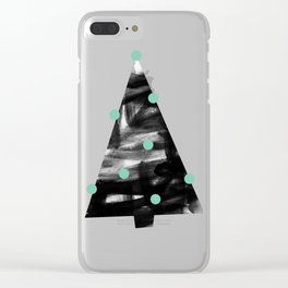 Christmas Tree 1 Clear iPhone Case