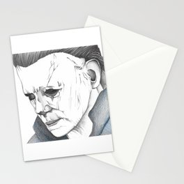 Happy Halloween, Michael Myers Portrait Stationery Cards