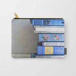 Shelfie in Blue 1 Carry-All Pouch