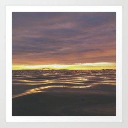 long island sunrise part 2 Art Print
