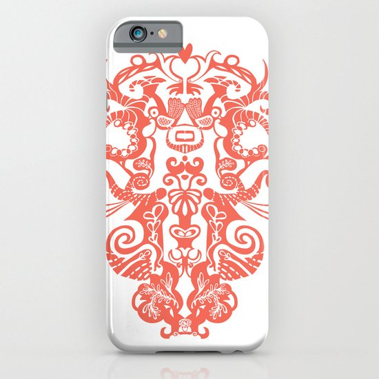 Harmony in Red iPhone & iPod Case