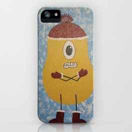 Chili Bean iPhone Case