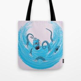 Kraken's Whirlpool Tote Bag