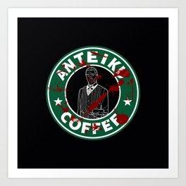 Anteiku Coffee Art Print