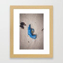 Dead Horse Gun Framed Art Print