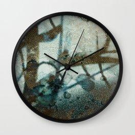 Fractions, close Wall Clock