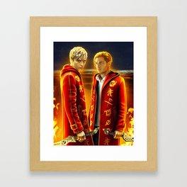 so alike Framed Art Print