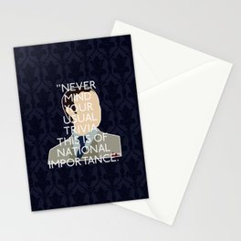 The Great Game - Mycroft Holmes Stationery Cards