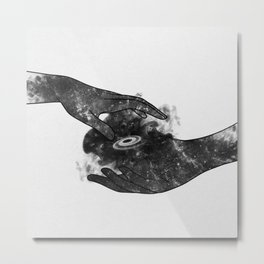 The touch. Metal Print