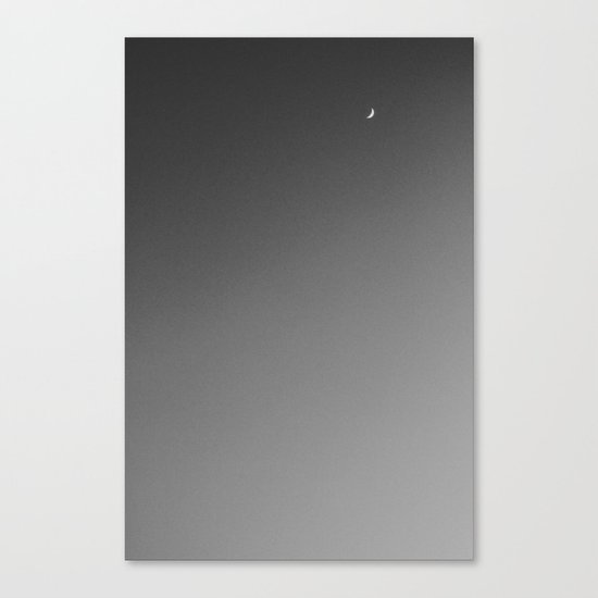 toenail moon Canvas Print