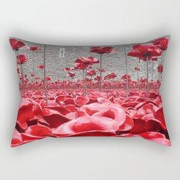 Tower Of London Remembers Rectangular Pillow