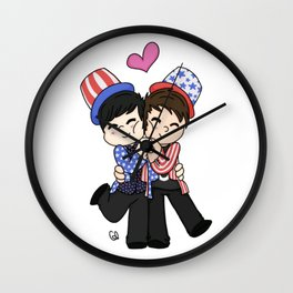 TATINOF USA Wall Clock