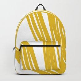 gold plant Backpack
