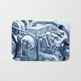 Turbo Diesel Engine Bath Mat
