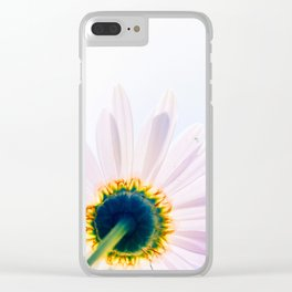 Blooming Daisy Clear iPhone Case