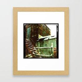 Sheds / Hangars Framed Art Print