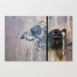 Locked Up / Photography Print / Photography / Color Photography Canvas Print