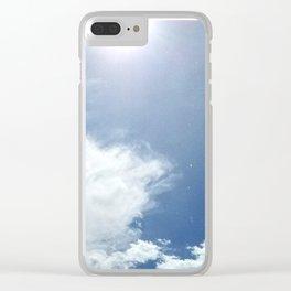 Sunshower Clear iPhone Case