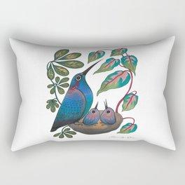 Mama Bird Rectangular Pillow