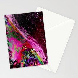 OIL SLICK GEO Stationery Cards