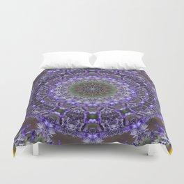 Lavender Kaleidoscope Duvet Cover