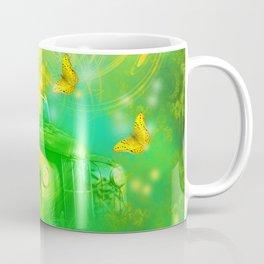 Dream wreck with butterflies Coffee Mug