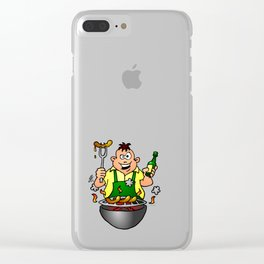 BBQ - Grill Clear iPhone Case