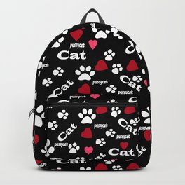 Traces of cats Backpack