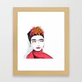 Frida 2018 Framed Art Print