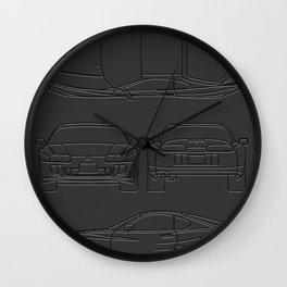 Supra Mk 4 Wall Clock