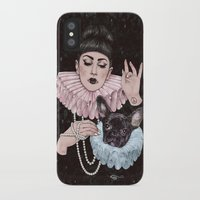 dress iPhone & iPod Cases featuring Dress Up by Helen Green
