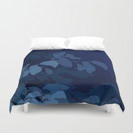 Blue Leaves Duvet Cover