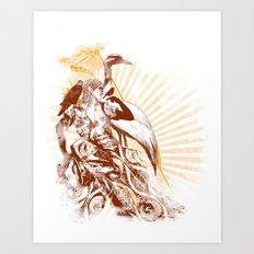 lady bird 2 Art Print