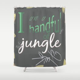 My Love is In Your Treehouse Shower Curtain