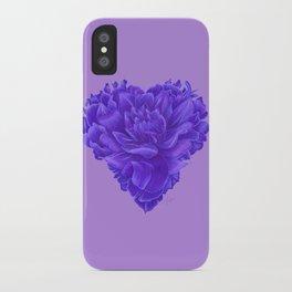 Flower Heart iPhone Case