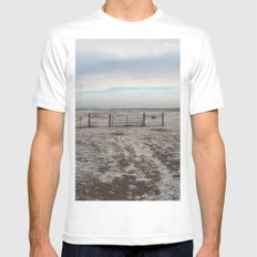 Snowy Gate Mens Fitted Tee White MEDIUM
