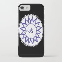 ohm iPhone & iPod Cases featuring Ohm Flower by Michelle_