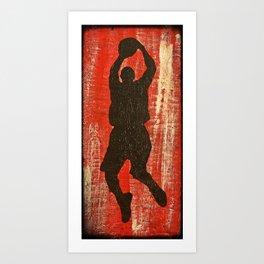Hoop Dreams 1 Art Print