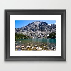 Phantom Lake Framed Art Print