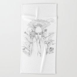 Divine Maya Beach Towel