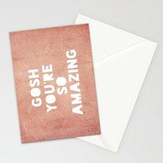 Gosh ( Amazing)  Stationery Cards
