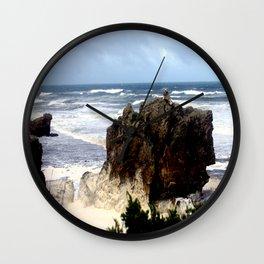 Sea Foam #2 Wall Clock