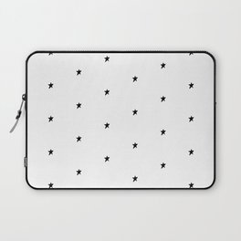 Black and white stars Laptop Sleeve