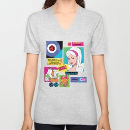 The Loft Subway Soul by Dawn Carrington Unisex V-Neck
