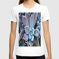 succulent T-shirts featuring succulent plant by  Agostino Lo Coco