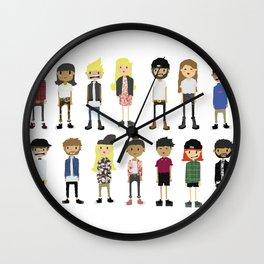 CLIQUE Wall Clock
