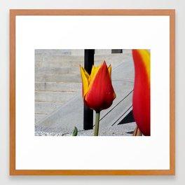 The Corrupt Flora Framed Art Print
