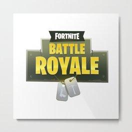 Fortnite Battle Royale Metal Print