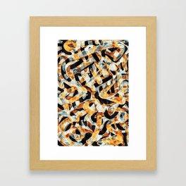 Pattern № 10 Framed Art Print