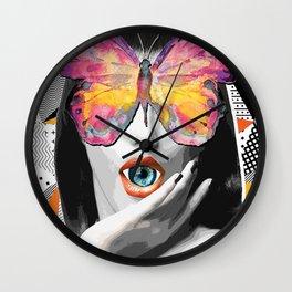 MadameButterfly Wall Clock